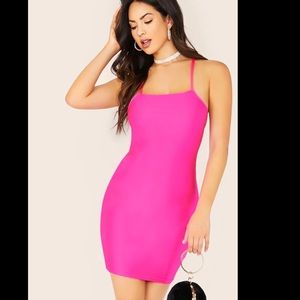 Sexy Hot Pink Dress 💕